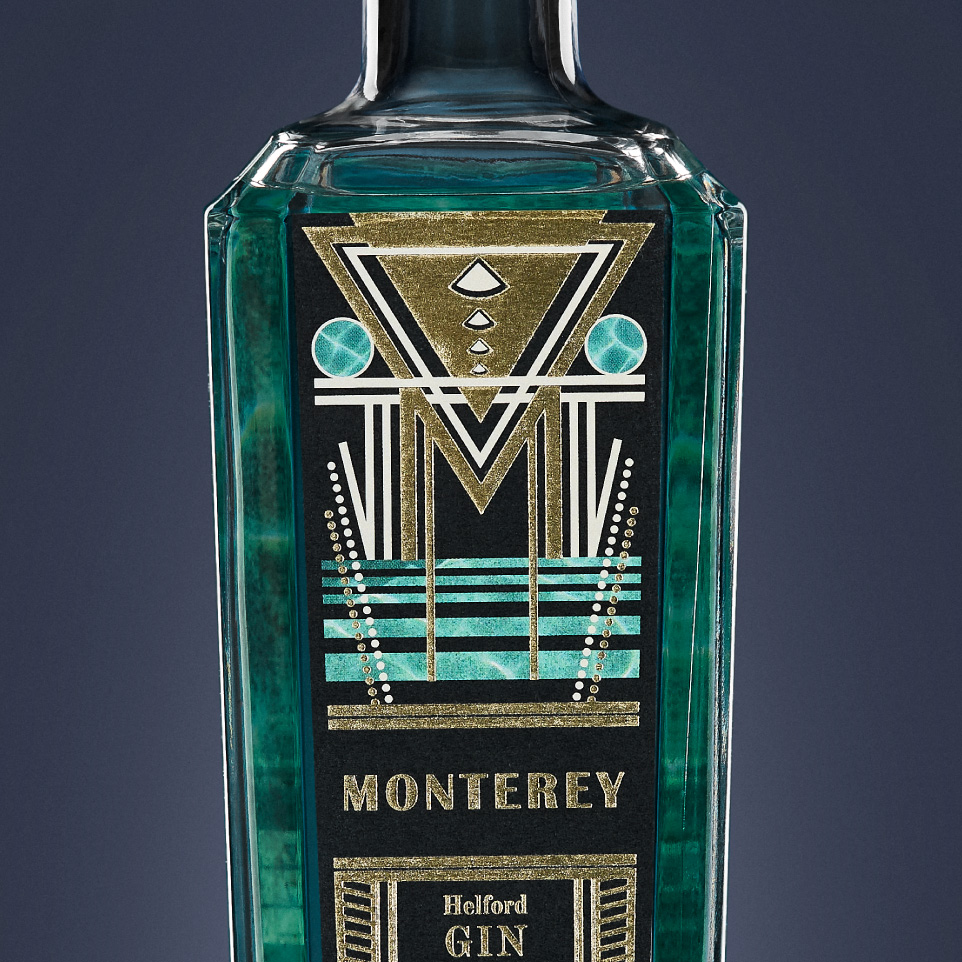 Monterey Gin Thumbnail - Amberley Labels