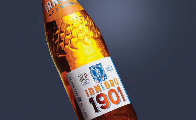 IRN BRU 1901 revealed as a finalist for Label of the Year 2020 - Amberley Labels